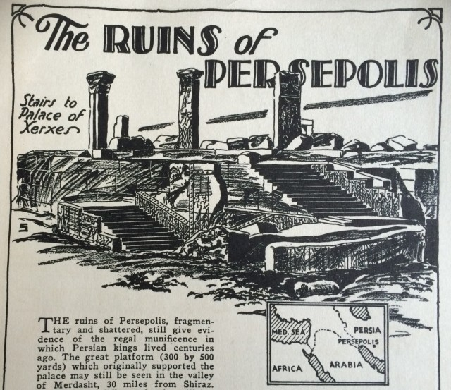 Persepolis, Minneapolis and the 'EnglishAdonis'